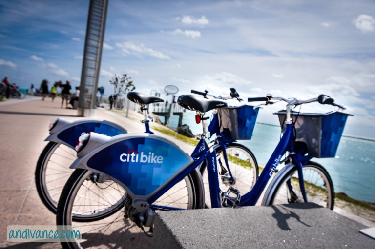Enjoying South Point on Miami Beach with CitiBikeMiami
