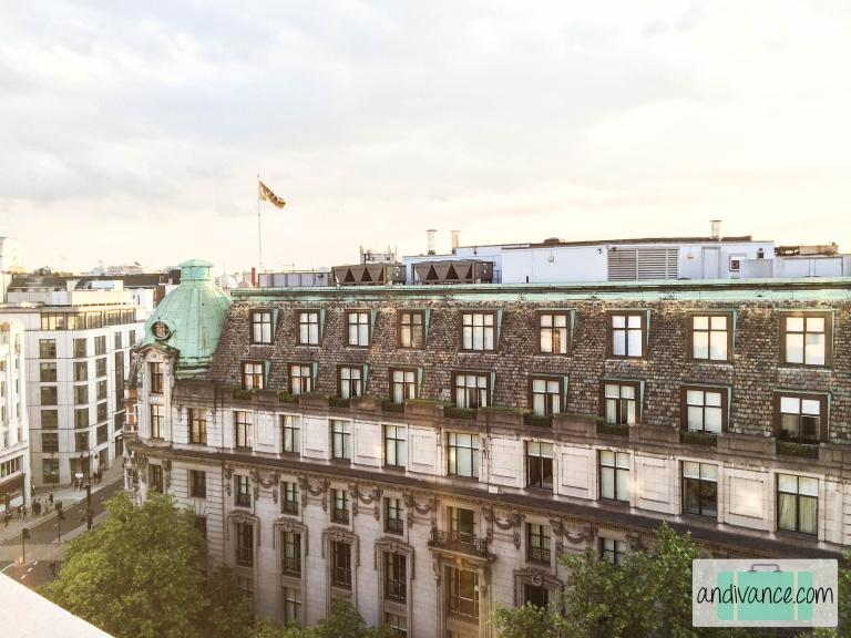 ME London Balcony View