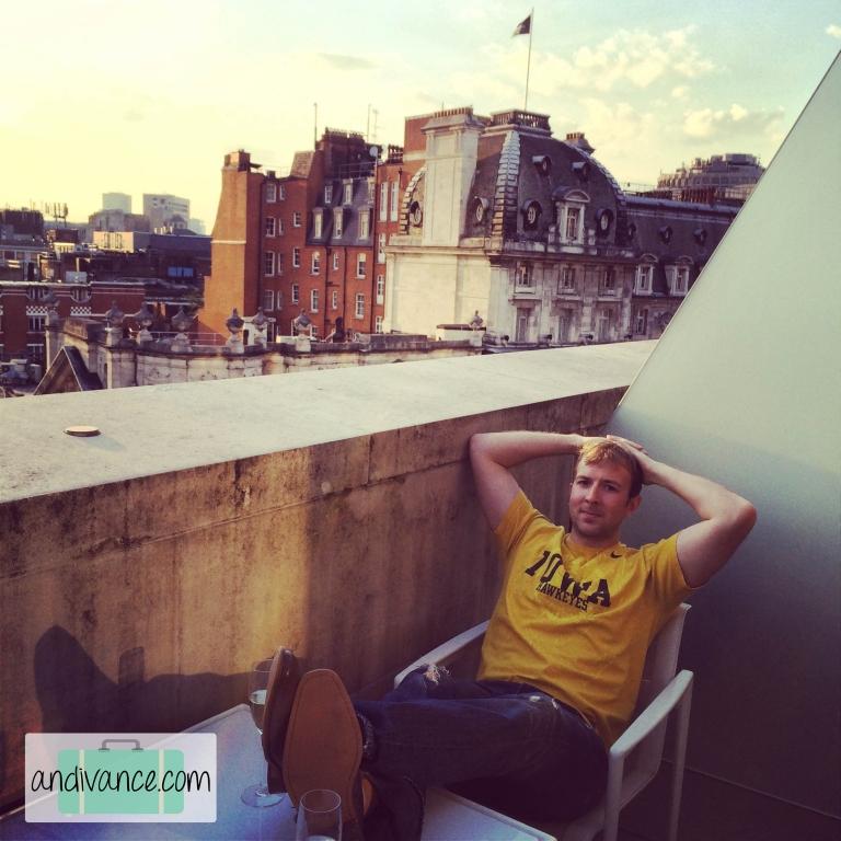 ME London Balcony