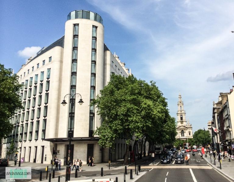 ME London Entrance