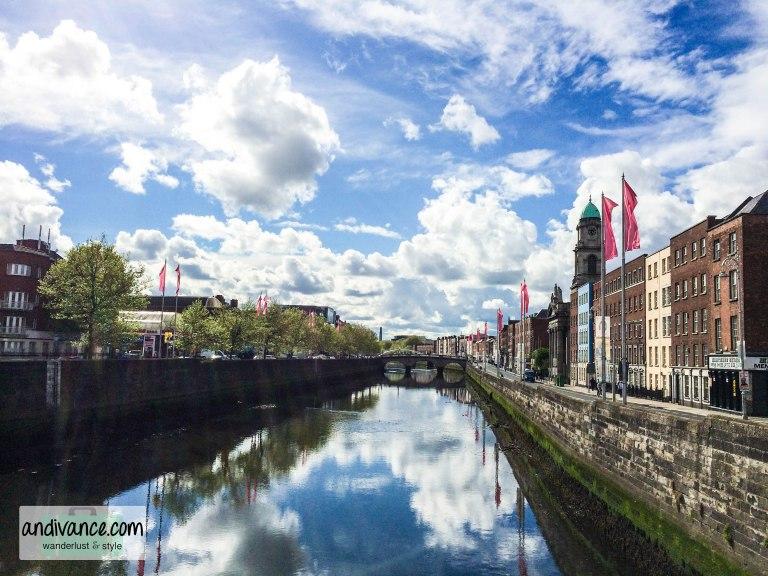 Dublin- River Liffey