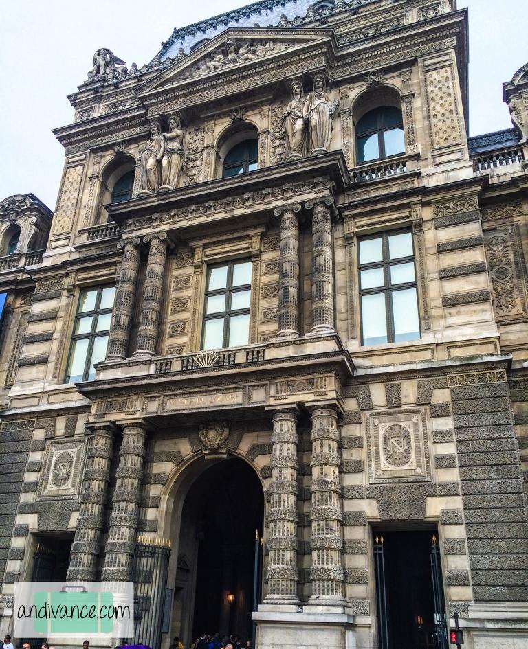Paris Louvre Building