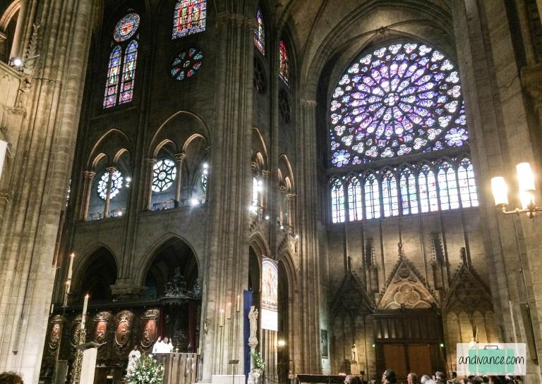 Paris Notre Dame South Rose Window