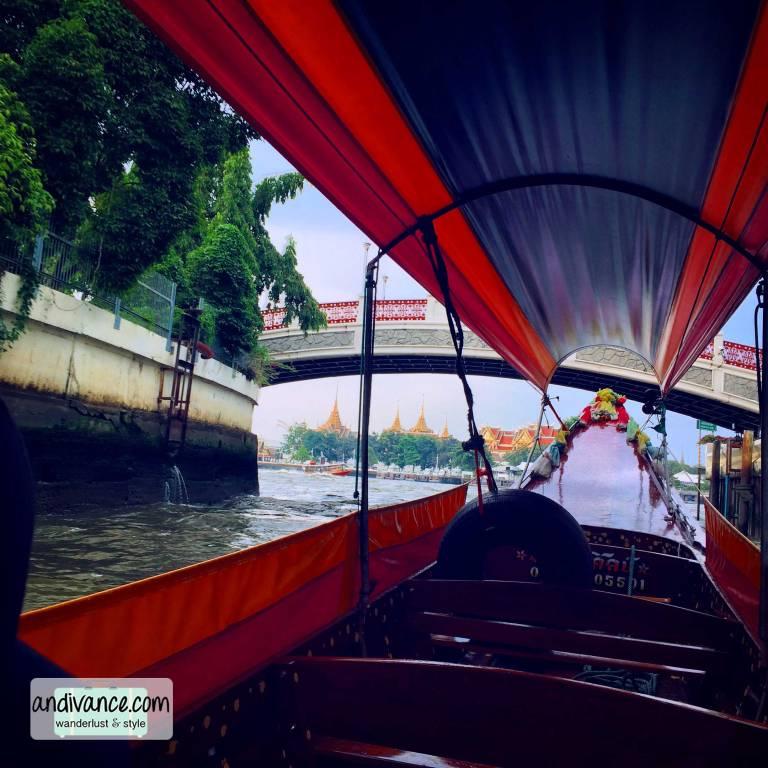 Bangkok Chao Phraya Gondola